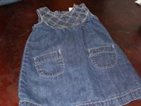 18-24 month Denim Old Navy dress $2.00 email, call, or