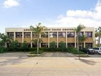 The prestigious Louisiana Credit Union Center  building