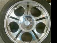 Selling these wheels in near perfect condition. Full