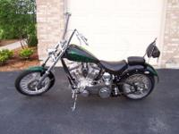 2011 Softail Bobber, Ultima 107 cu in Polished Aluminum