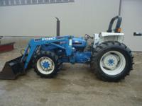 One owner new holland 5030 tractor with ford quick