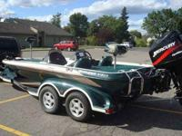 2001 Ranger Bass boat for sale! This Comanche 518(D)VS