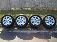 THESE ARE 7 SPOKE 18x8 INCH, 6x115 BOLT PATTERN (51mm