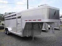Not your average stock trailer This 2013 model 8127