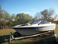 18.7 ft. Bayliner /1983 Force and trailer. Hull is in