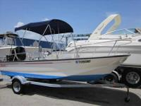2005 Boston Whaler 17 MONTAUK 2005 Boston Whaler 17