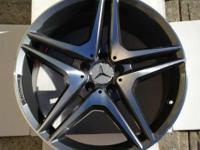 Name: AMG C63 DOUBLE SPOKE STYLE. Condition: Brand