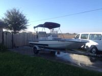 Selling 18' Bay Hawk in good conditions. Has new gauges