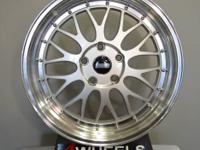 Brand new for a set of 4 wheels  Size 18x8 and 18x9 ET