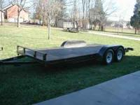 "2010 18'x82"" with 2' dove tail.. dual axles with"
