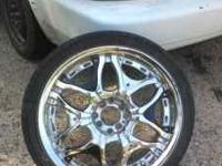 Bad ass lookin rims need cash call or txt for pics must