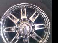 "I have a set of 18"" 8 lug chrome wheels. That came off"