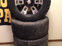 "18"" diamo wheels with Mickey Thompson Baja ATZ tires."
