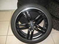 "18"" ENKEI WHEELS -- 4X100 -- BRIDGESTONE TIRES 95%"