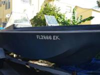This is a Tradewind 18 foot boat, from 1970, with