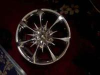 "I have a set of 18"" rims and they are five lug"