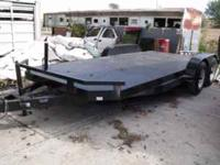Heavy Duty flatbed trailer for sale, asking $2500. 16'