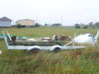 18 Foot tandem axel boat trailer 200.00 or OBO. Has