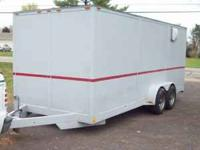 nice clean trailer brand new rubber lights breaks