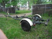 Heavy Duty Class 2 Roller Boat trailer. Rated for
