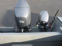 LIKE NEW 2011 Duckworth W/ 75 HP Yamaha 4 stroke
