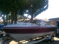 I am selling my 1987 SunRunner 190 $2,600. 18 ft.