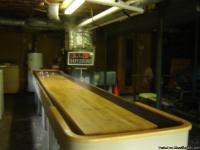 18 FT shuffleboard by Playfair, Inc. Comes with