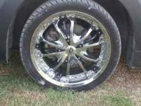 "i have 4 18"" giovanni rims for sale i had them on my"