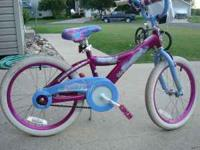 like new girls bike. if interested call . cash only.