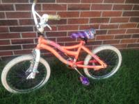"18"" Girls Bike $30. Requirements a little TLC ... the"