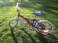 "I have a very nice 18"" Girls 'Peace Symbol' Bike made"