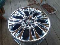 "18"" chrome helo rims...price reduced call  Location:"