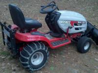 Lightly used lawn tractor with 58 original hours. 42