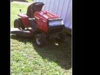 THIS IS A GREAT RUNNING 46 INCH CUT YARD MACHINE IN