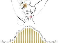 Have sweet dreams with this stylized Tinker Bell