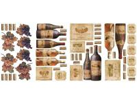 If you are a wine connoisseur, this set of wine labels