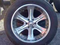 18 inch American Racing wheels & tires they are 6 lug