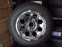 "USE COMBO OF 18"" 6/135 CHROME WHEELS WITH 265/60R18"
