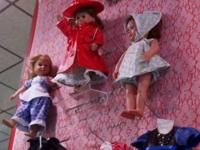 LARGE SELECTION OF VARIOUS STYLES AND COLORS OF DOLL