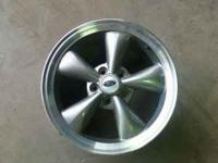 set of 4 mustang wheels. These wheels are in great