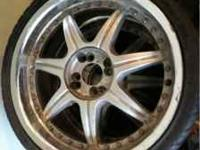 I am selling a set of rims with a universal 4 lug