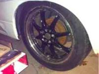 Super clean 18 inch rims. They are 2-peice rims so they