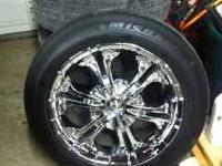 IM SELLING MY 18 INCH RIMS WITH MICHELIN TIRES. WITH A