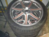 I have 4 18 inch wheels 5x115 bolt pattern I believe.