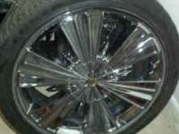 18 inch rimz with tires for 450. three of tires is in