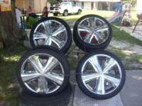 18 INCH TIRES & RIMS 5 BOLT EXCELLENT CONDITION MUST