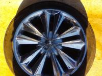 none of the rims are damaged just not my style they are