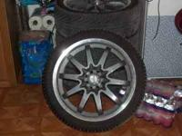 I have for sale some 18 inch wheels with tires. Tire