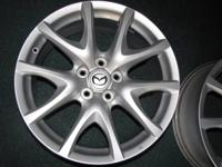 OEM, Mazda RX8 wheels that will fit many cars. There