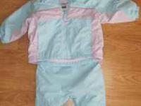 Very Cute, in great condition Girls Columbia Snow Suit.